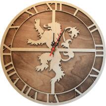 Trónok Harca - Lannister logo óra