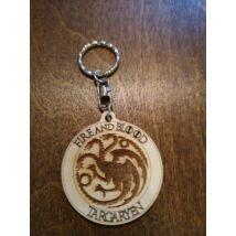 Trónok harca kulcstartó - Targaryen