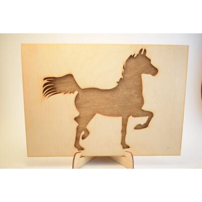 Büszke lovas kép