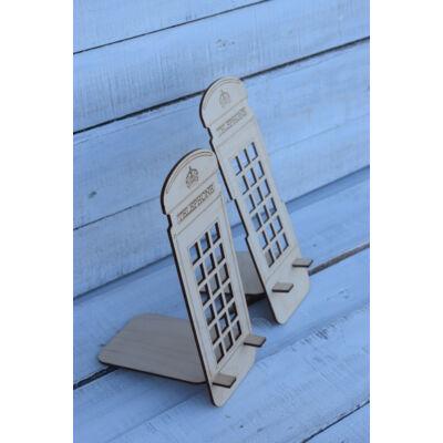 Angol Telefonfülkés MobilTartó