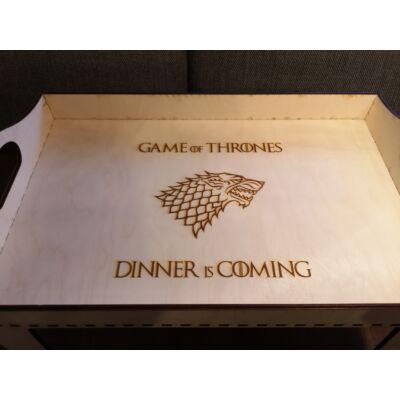 Trónok harca étkező tálca - Dinner is Comming