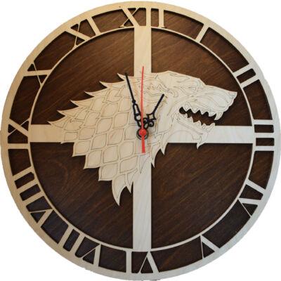 Trónok Harca - Stark Logo Óra