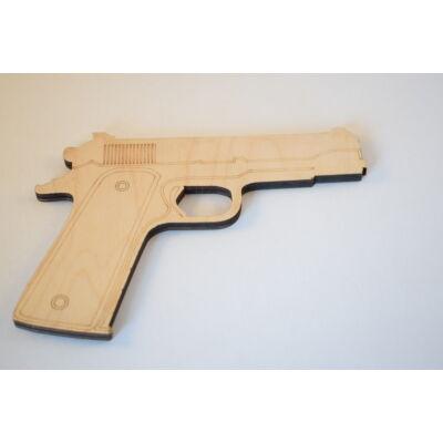 Fa játék pisztoly