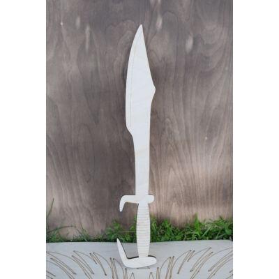 Spártai kard fából