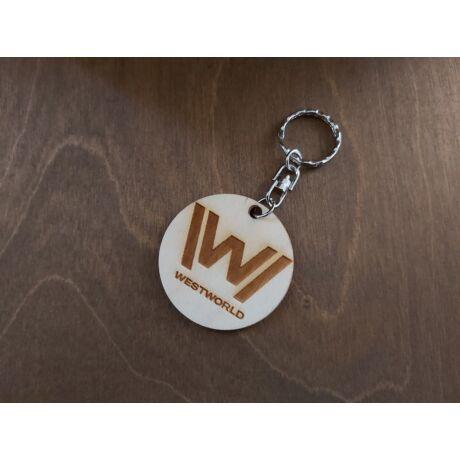 WestWorld felirat + útvesztő kulcstartó